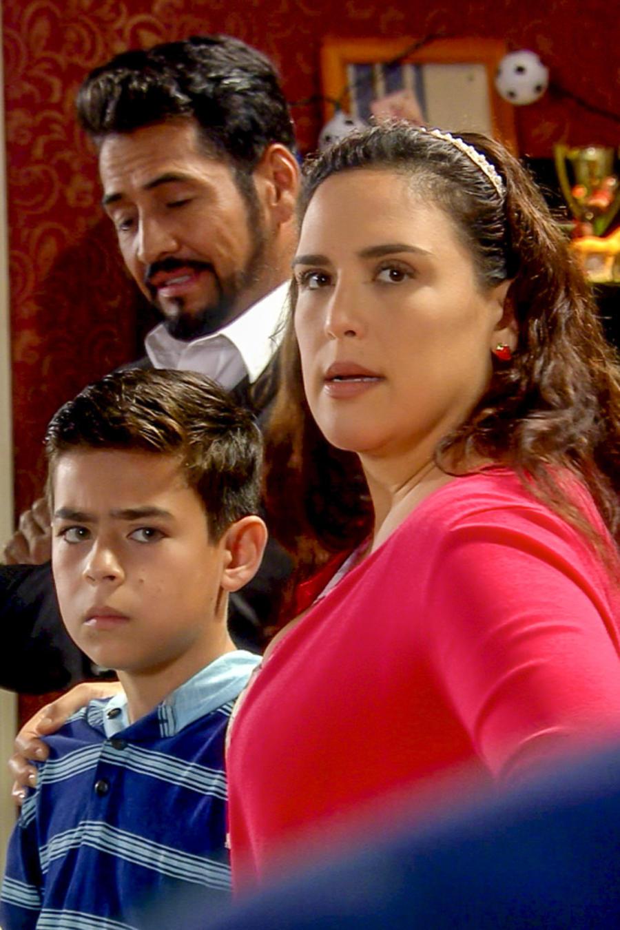 Angélica Vale, Gabriel Porras, juntos, La Fan