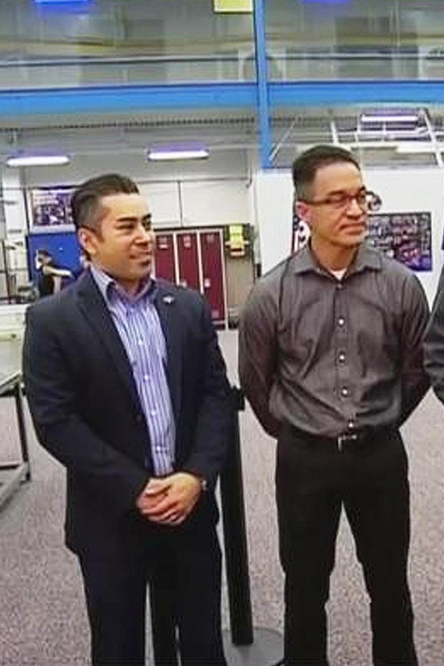 hispanos en la nasa