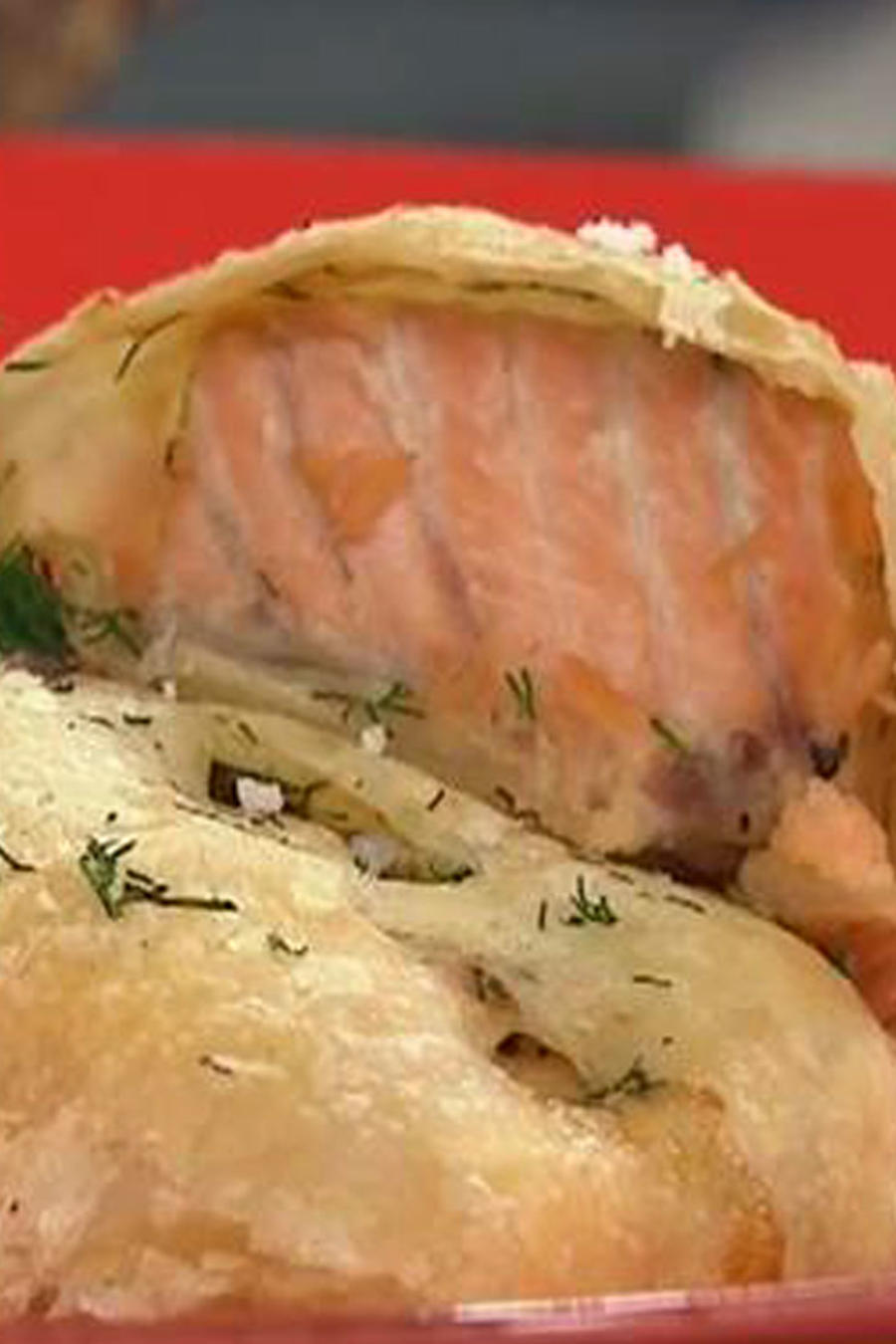 Recetas de cocina: Salmón en Masa de Hojaldre
