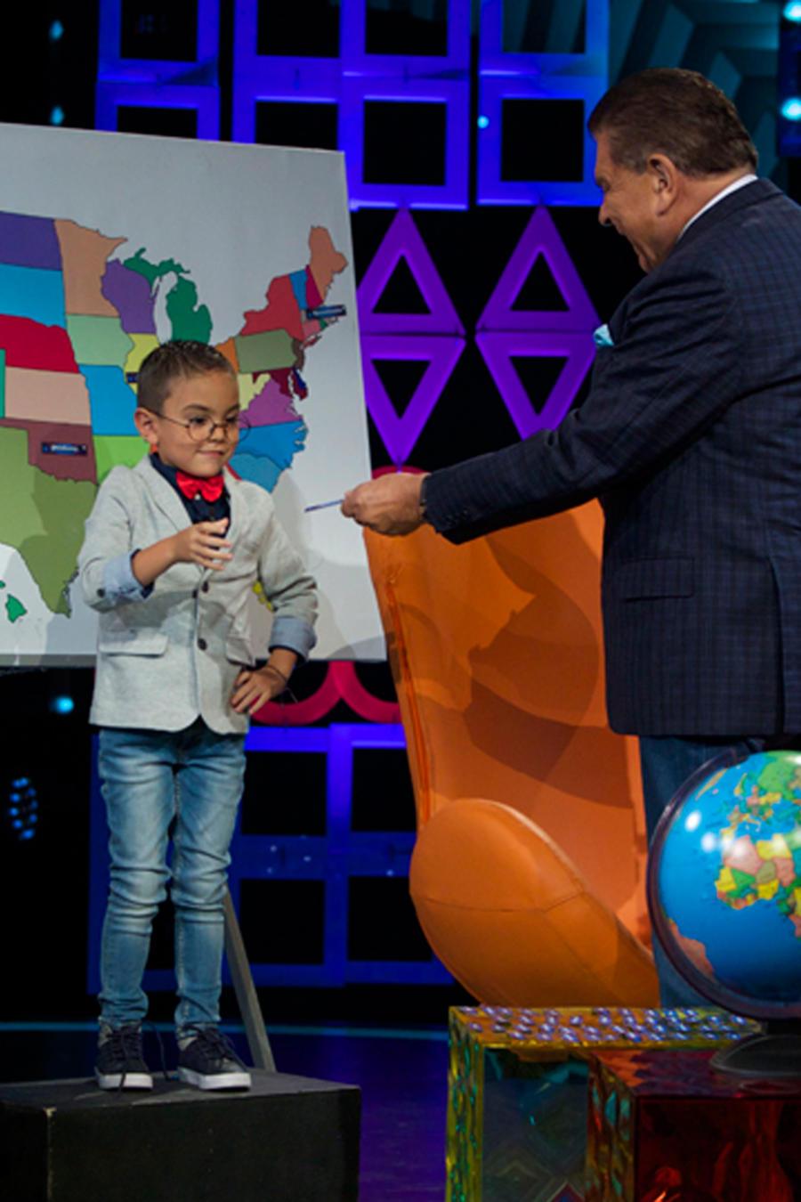 Miguel Angel Rojas, niño superdotado de 5 años en Siempre Niños