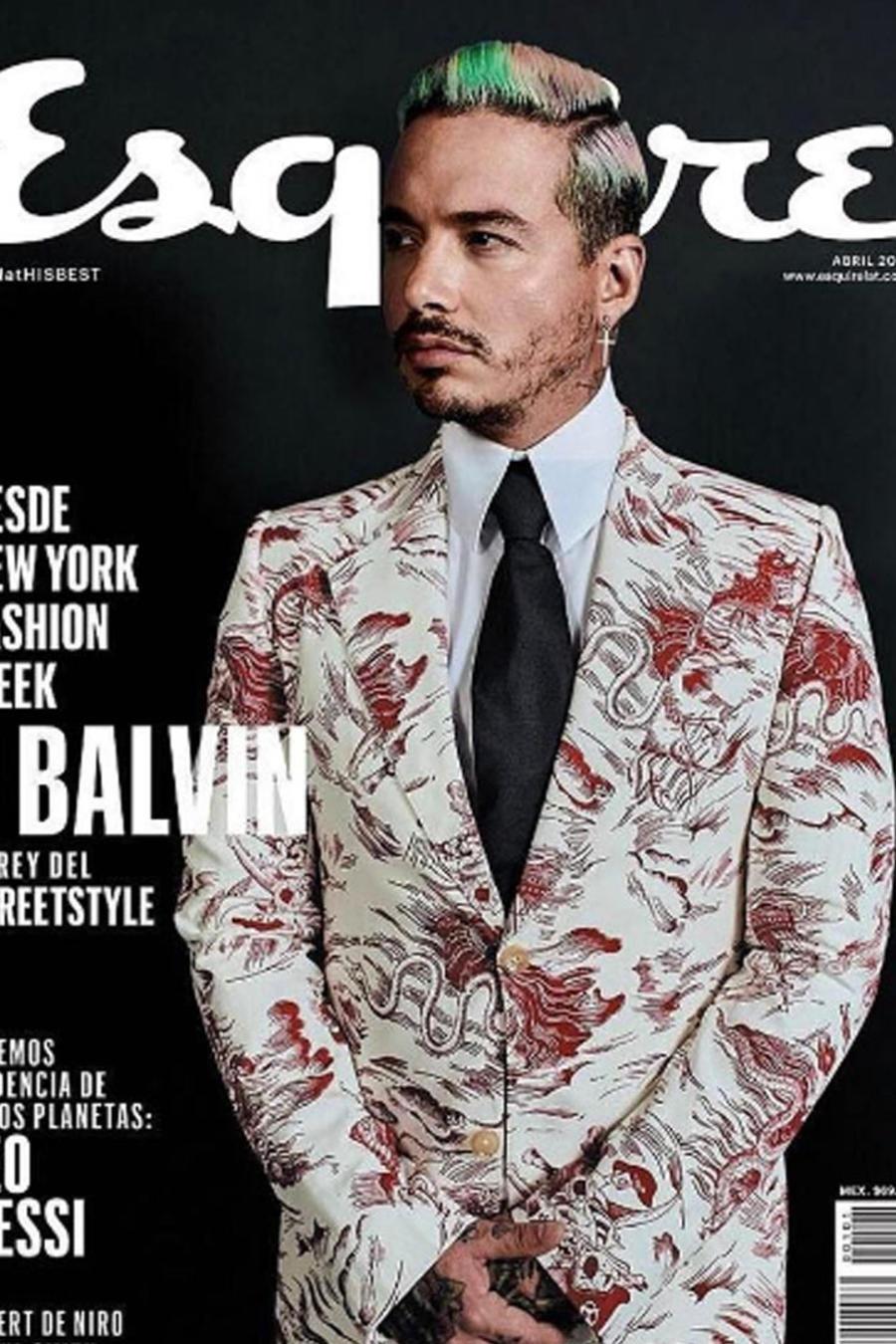 jbalvin portada esquire