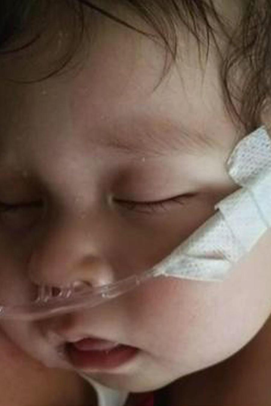 Buscan un donante para una niña de 1 año con cáncer