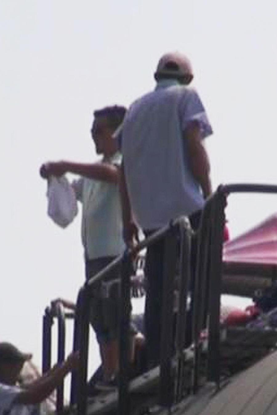 Caravana Vía Crucis del migrante se sube al tren La Bestia
