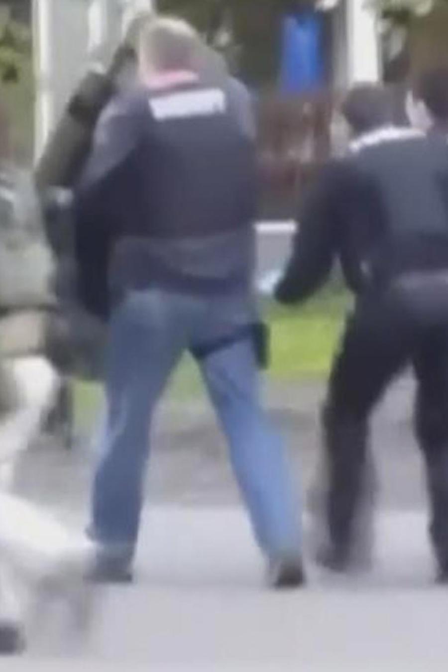 arrestan a hombre