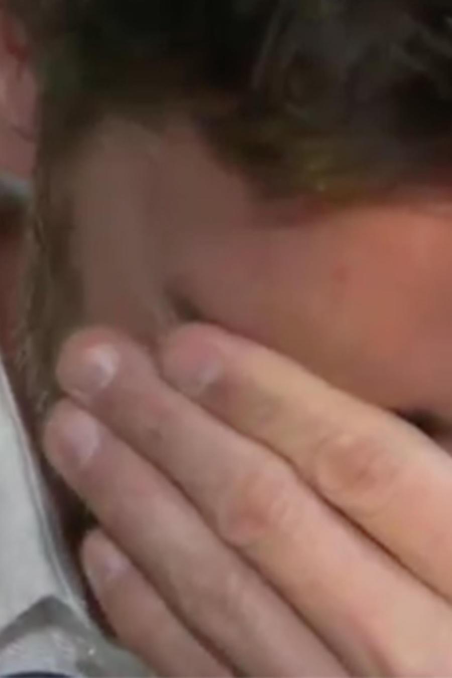 Julián Gil rompe en llanto al hablar de su rompimiento con Marjorie de Sousa