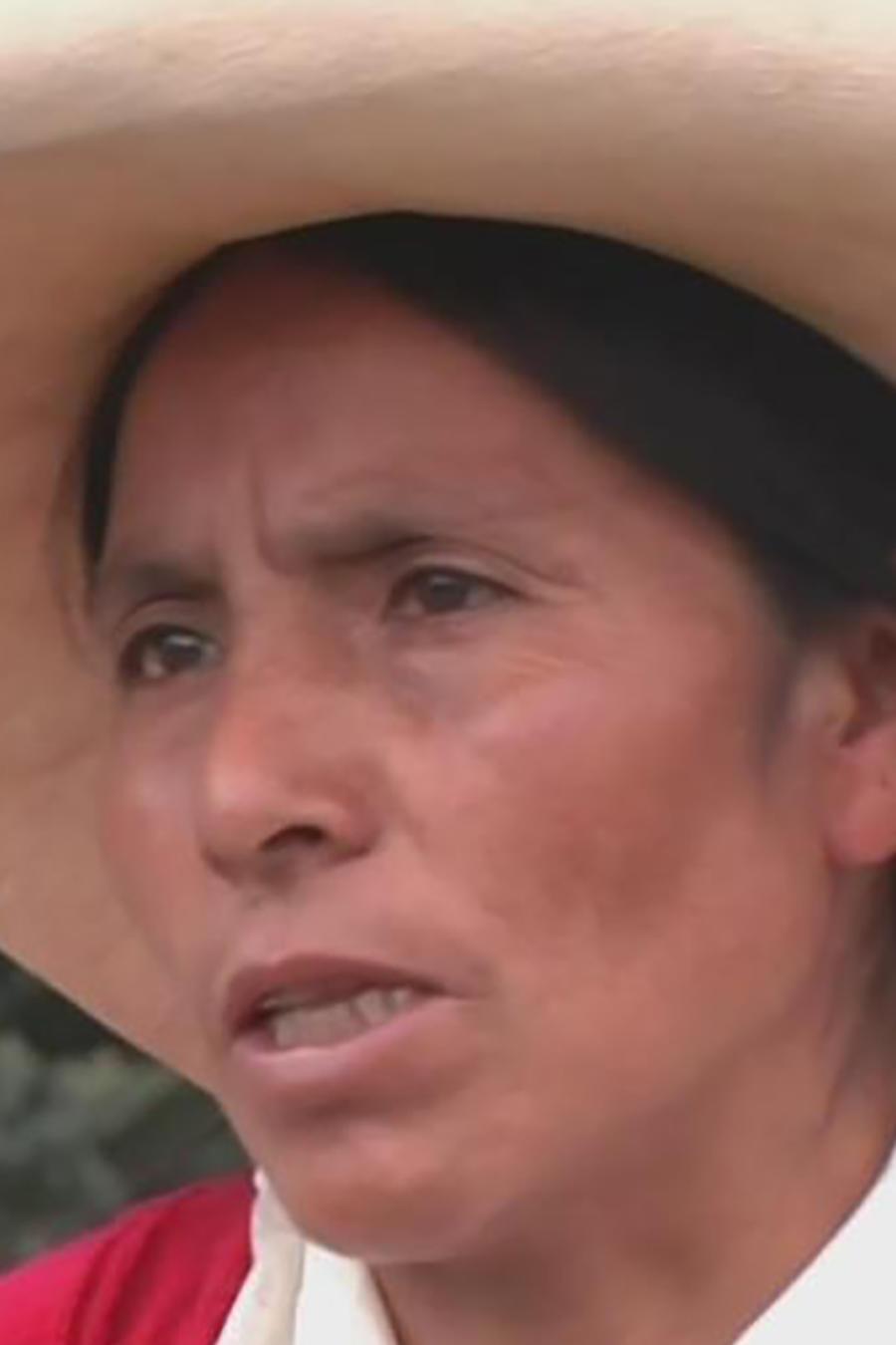 Indígena peruana se enfrenta en cortes a minera por su territorio