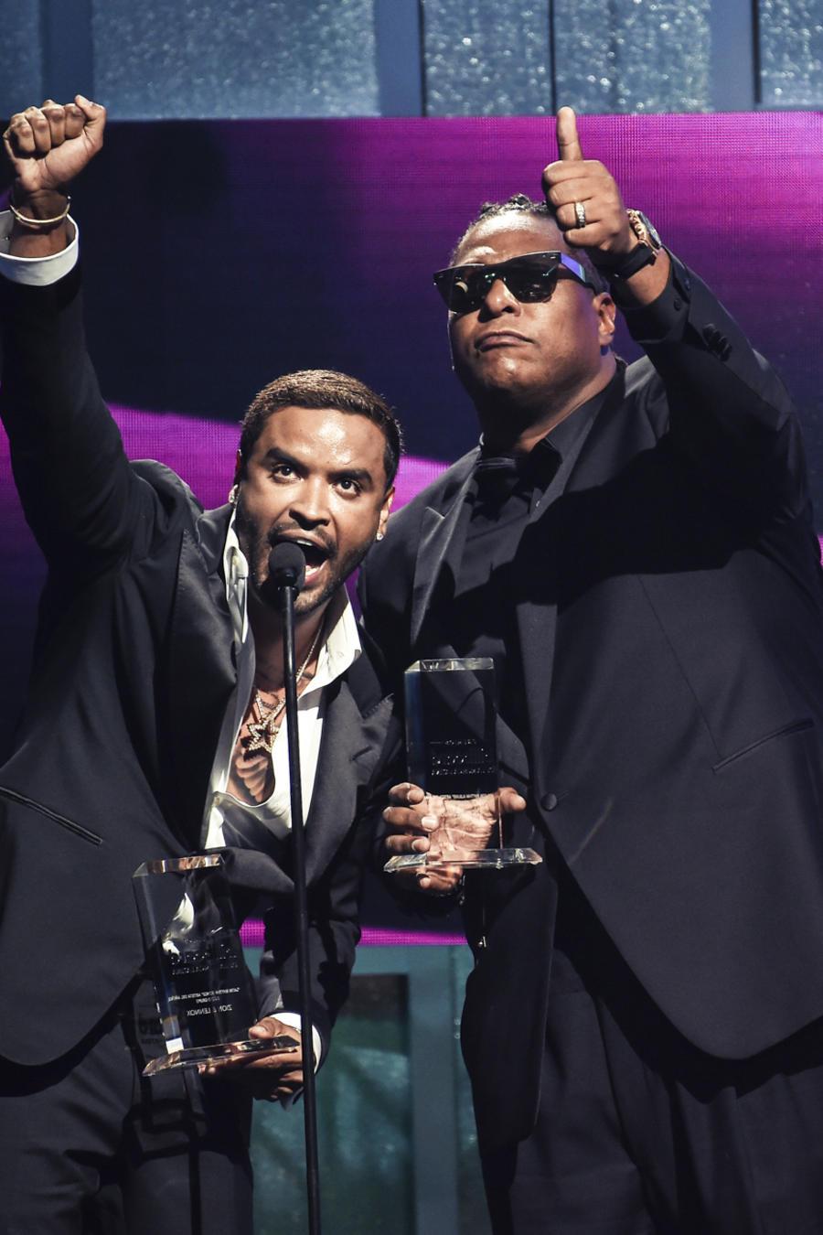 Zion y Lennox en Premios Billboard 2017