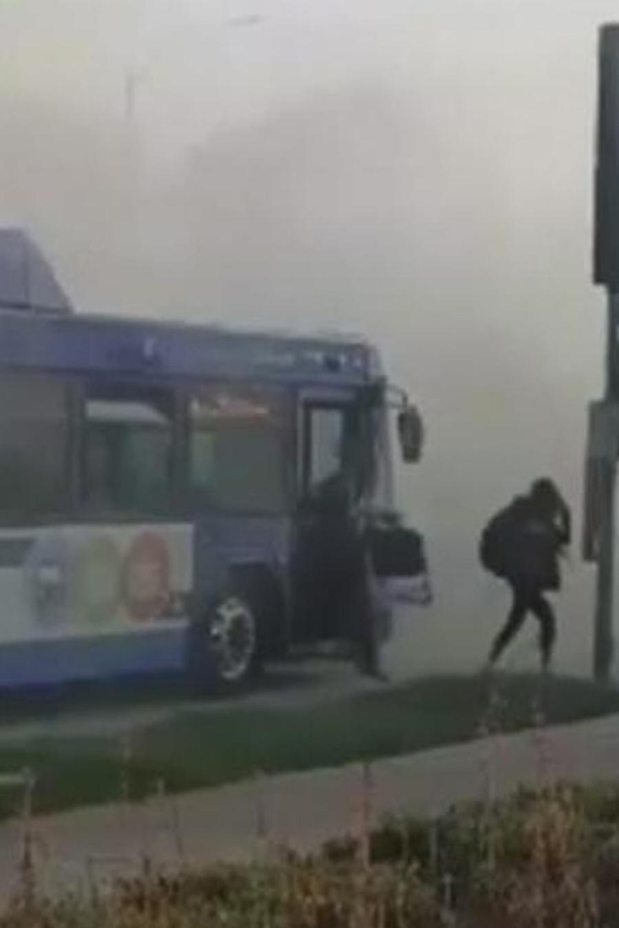 panico en bus