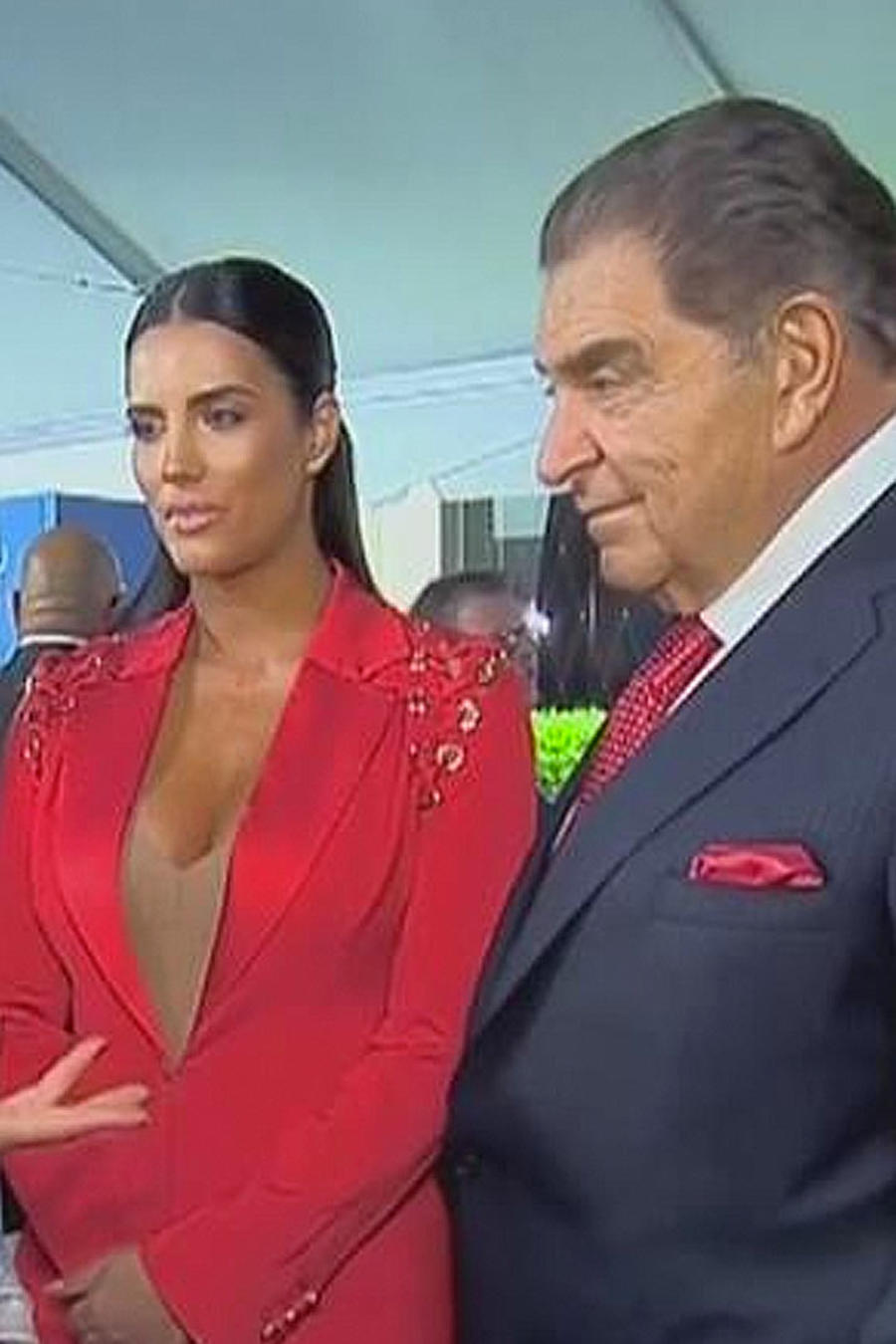 gaby espino y don francisco