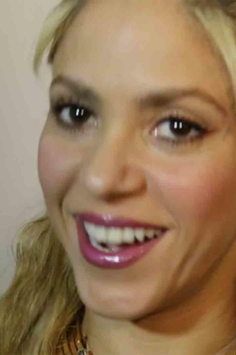 """Shakira en el lanzamiento de su álbum """"El Dorado"""""""