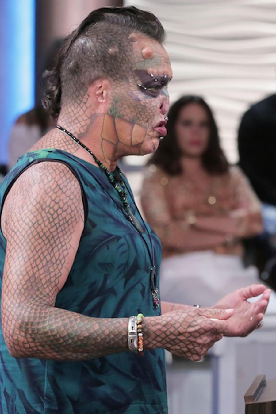 Tiamat, la mujer dragón en Caso Cerrado