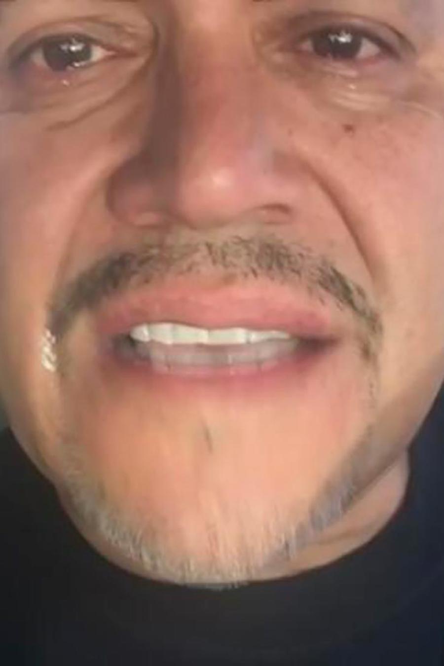 Pedro Rivera sube un video llorando y nadie sabe la razón