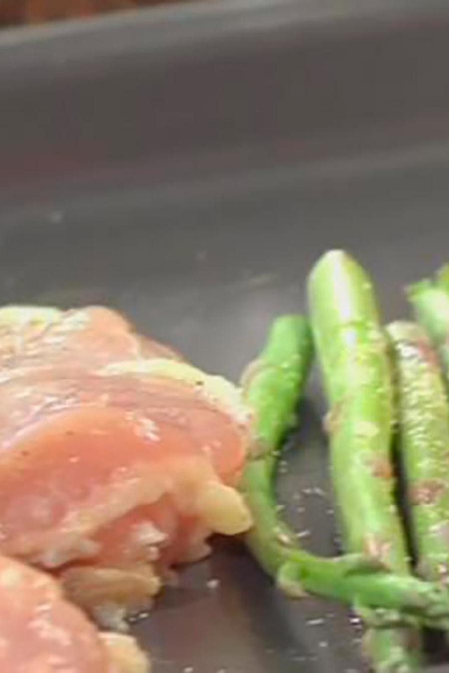 Recetas de cocina: Cómo hacer Pollo con Zanahorias, Espárragos y Papas al Horno