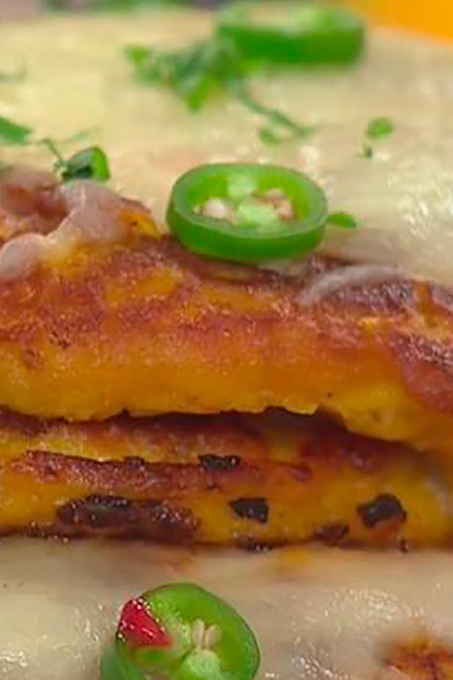 Recetas de cocina: Descubre cómo hacer unas deliciosas Panquecas de Pavo con Queso
