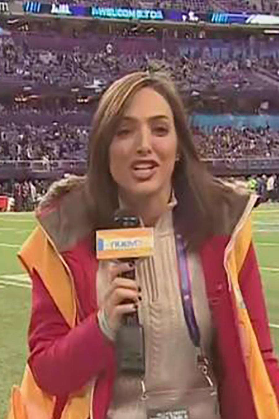 Erika Csiszer nos cuenta cómo fue vivir al experiencia del Super Bowl 52