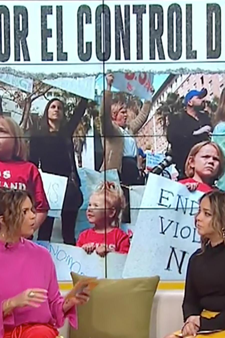 Padres y sobrevivientes de la masacre de San Valentín exigen un mayor control de armas