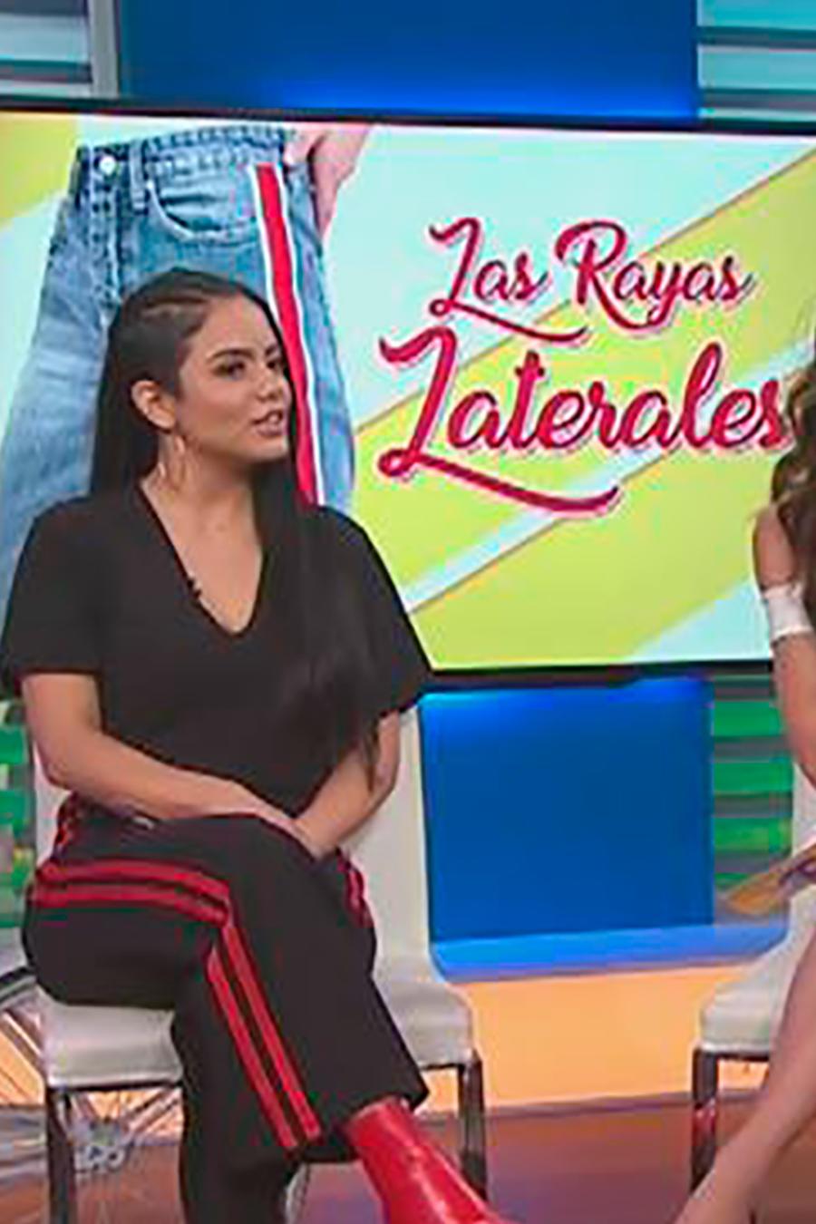Vicky Fernández, bloguera de moda, nos cuenta todo sobre los pantalones con rayas laterales