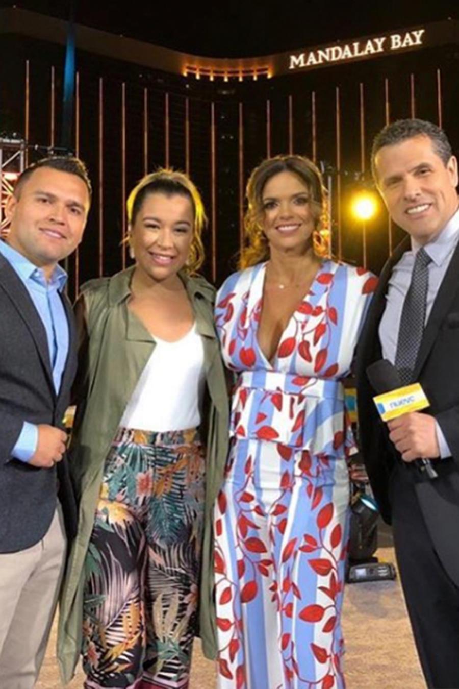 Irasema Torres, La Picosa, nos muestra lo mejor de los ensayos de Premios Billboard 2018