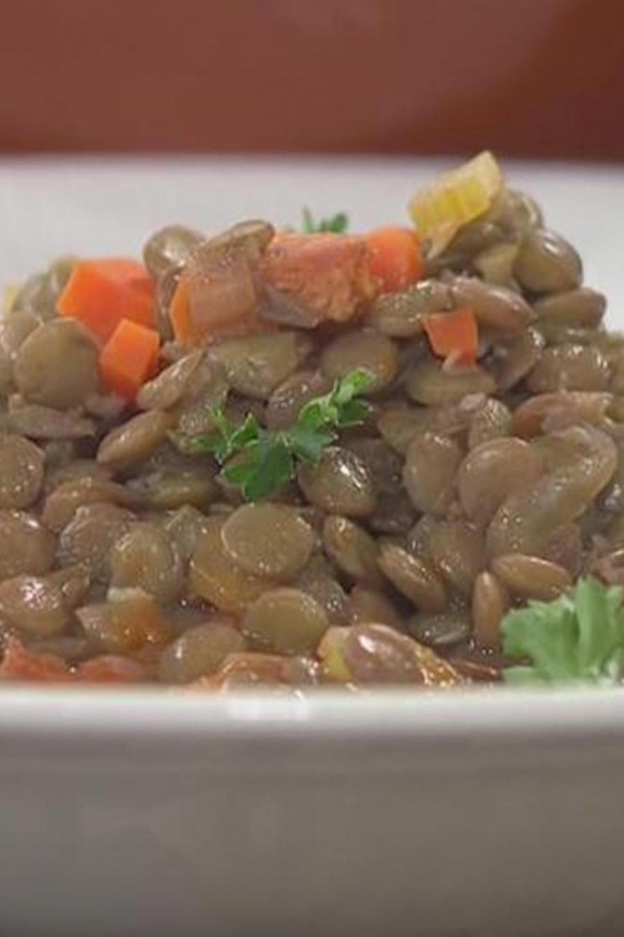 Recetas de cocina: Cómo hacer unas deliciosas Lentejas con Chorizo
