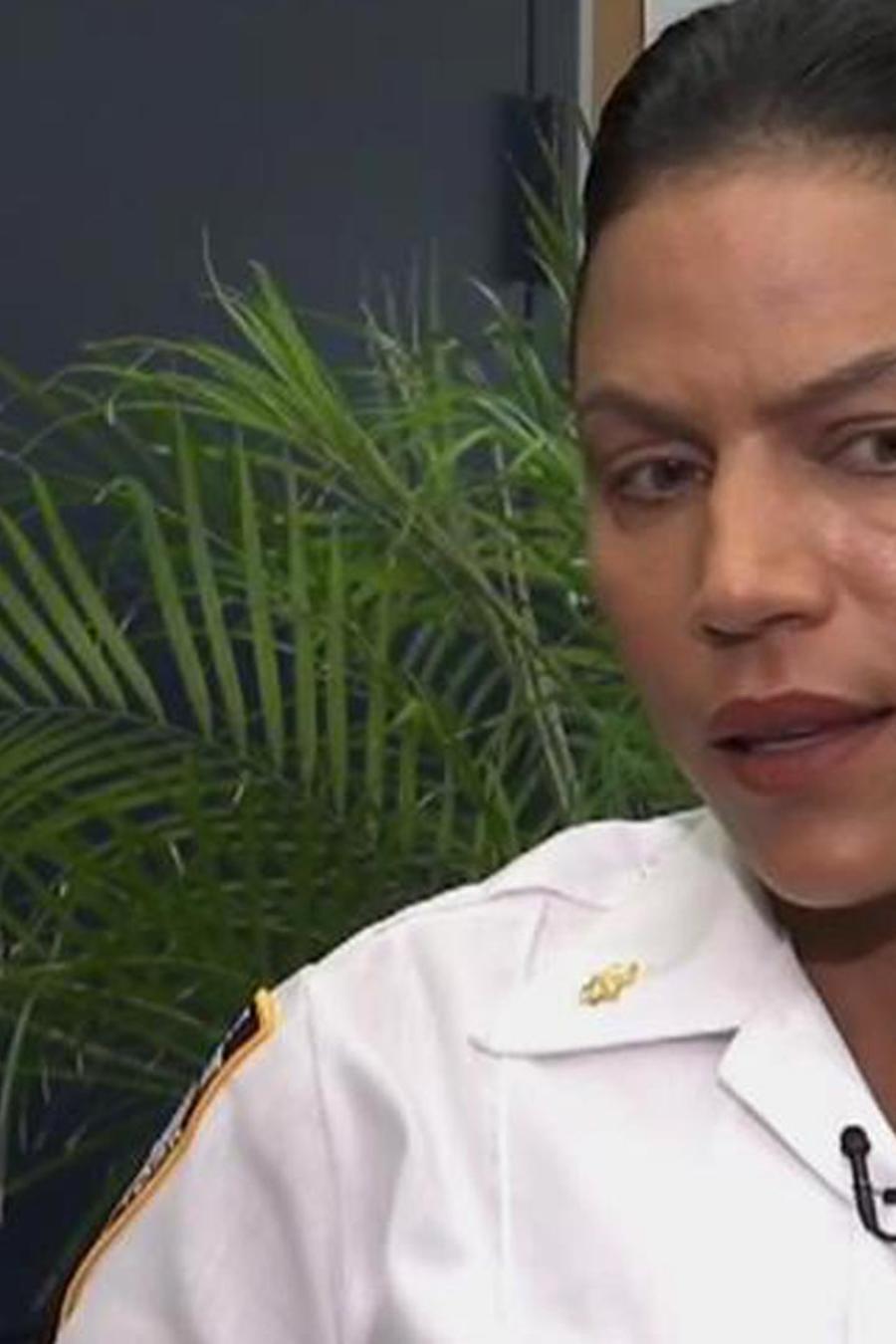 Policía latina del Bronx