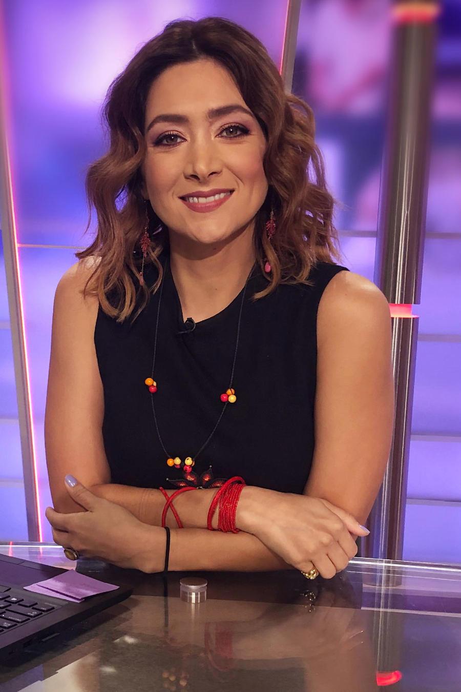 Felicidad Aveleyra, presentadora de las noticias de Un Nuevo Día