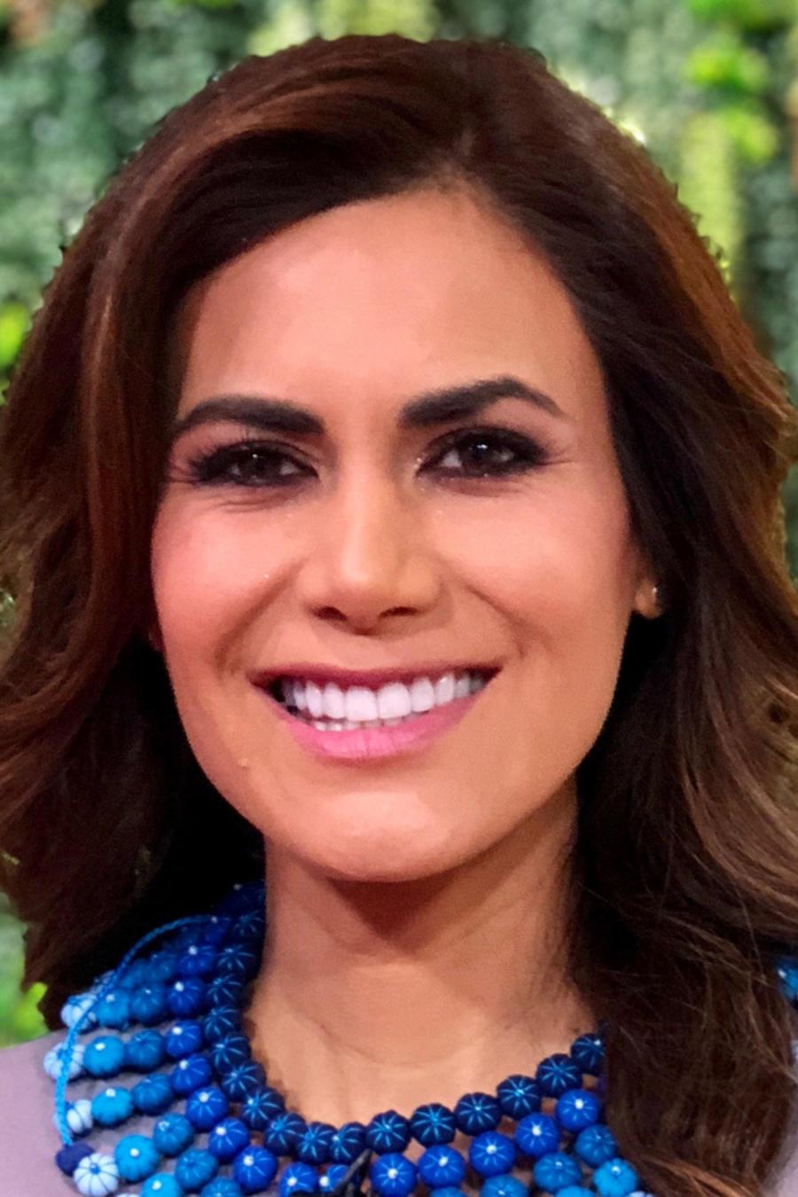 Vanessa Hauc, presentadora de las noticias de Un Nuevo Día