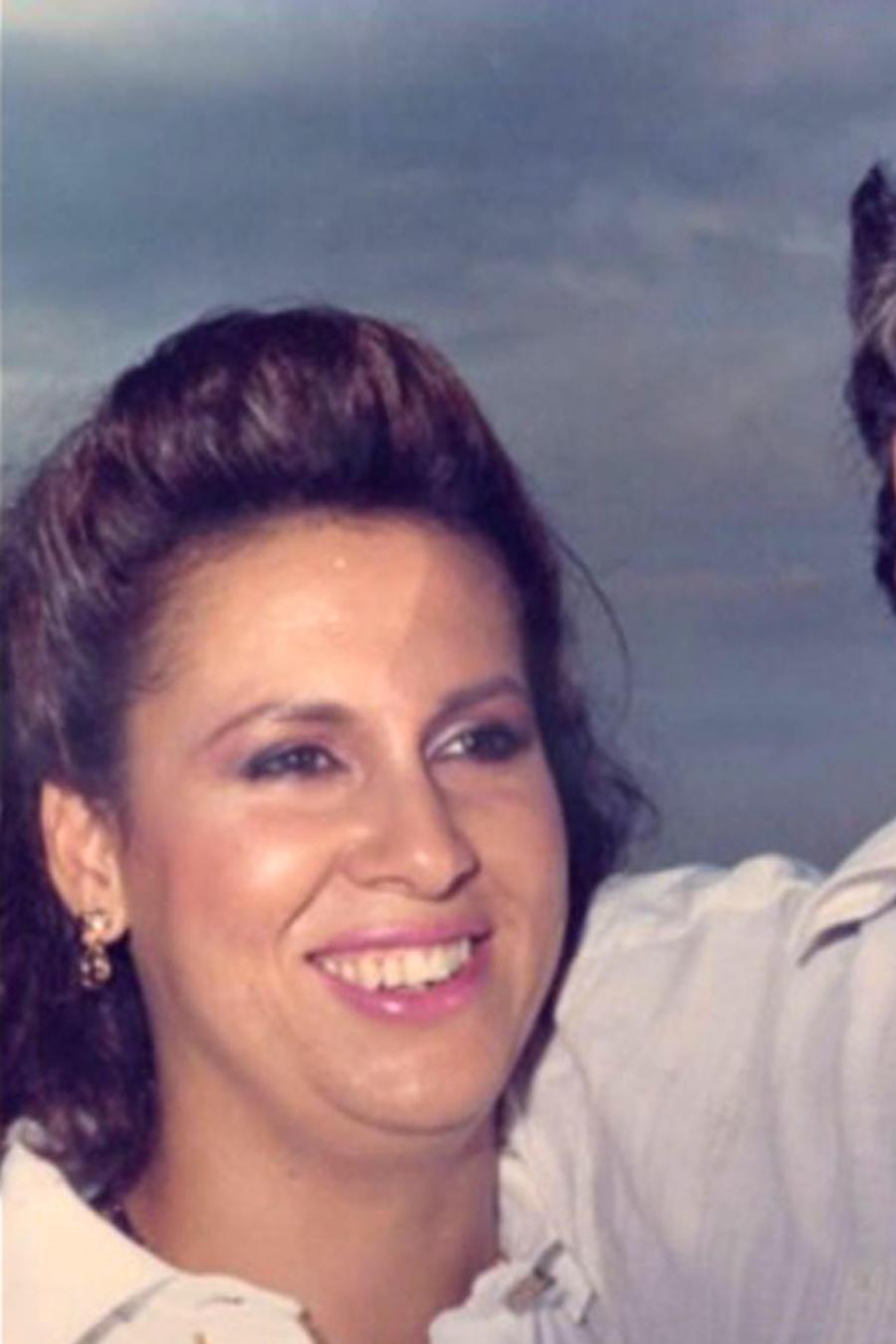Pablo Escobar y su esposa