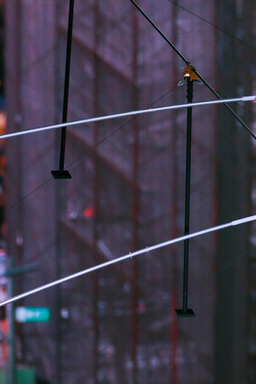 Hermanos equilibristas Wallenda el domingo en Times Square