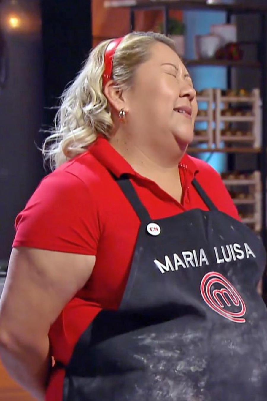 María Luisa Balbuena cometió un error en el reto de eliminación en MasterChef Latino 2
