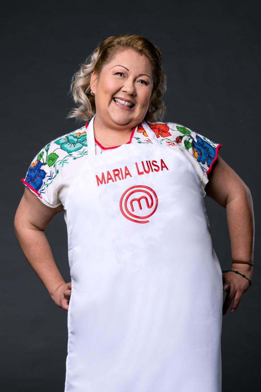 María Luisa Balbuena, participante de MasterChef Latino 2