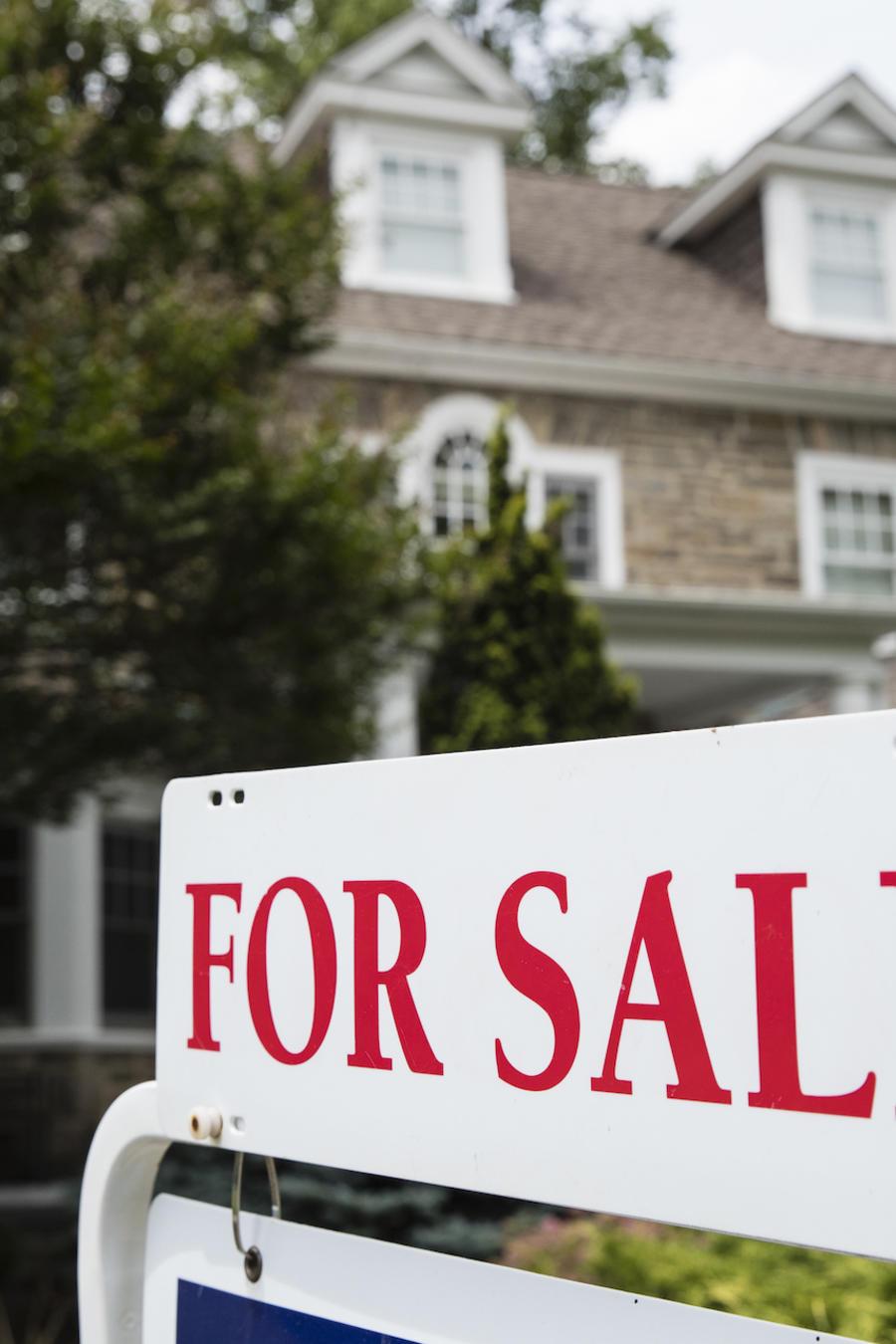 Imagen de archivo de una casa en venta en Pensilvania.