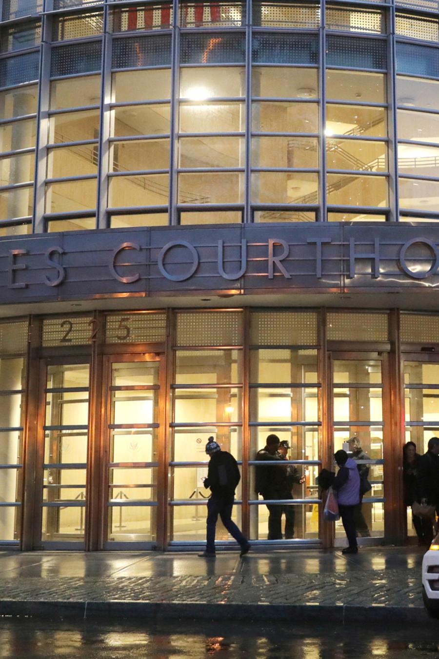 Corte en NYC donde será sentenciado El Chapo