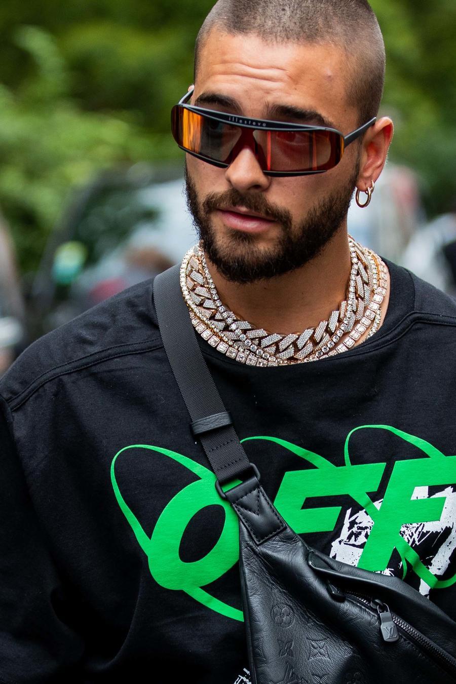 Maluma en la semana de la moda en Paris