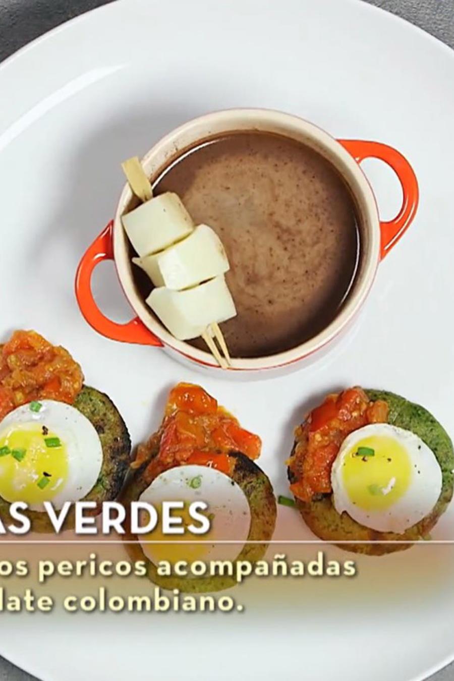 Arepas verdes de parte de Lauren Arboleda en MasterChef Latino 2