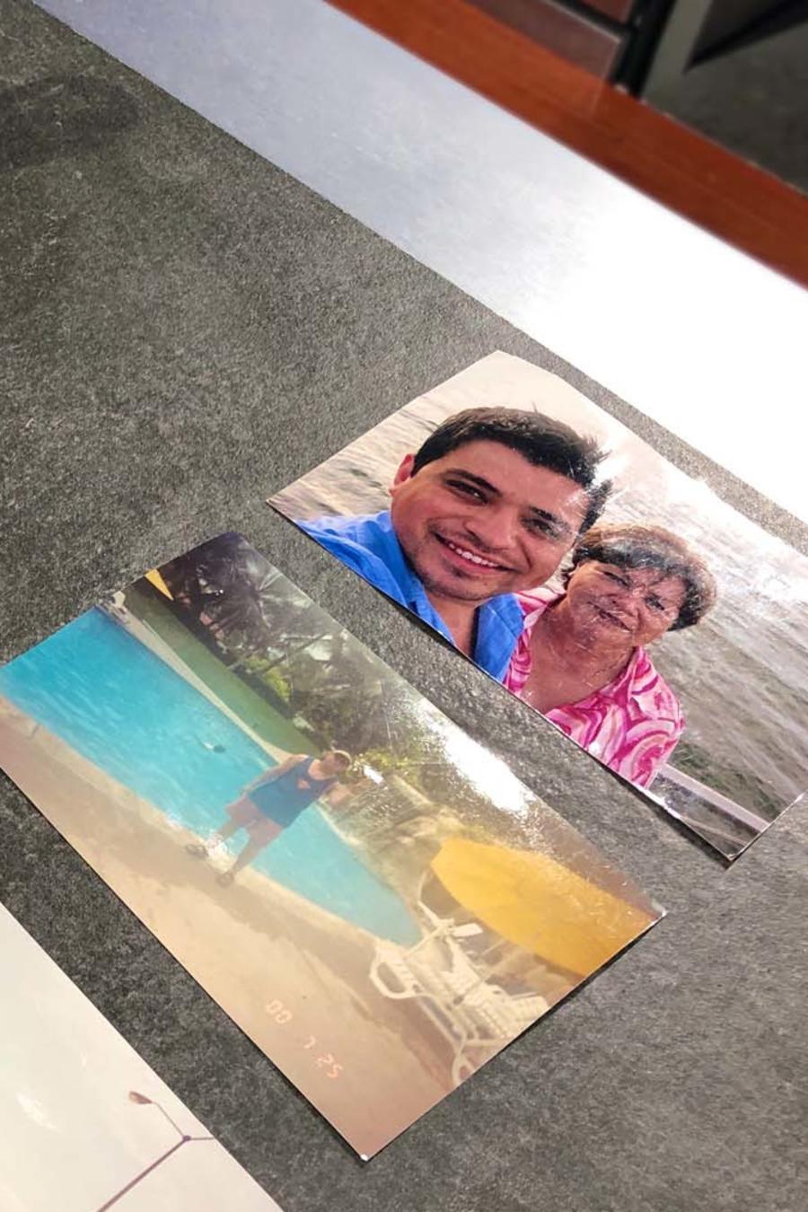 Recuerdos de Javier Seañez en la caja misteriosa de MasterChef Latino 2