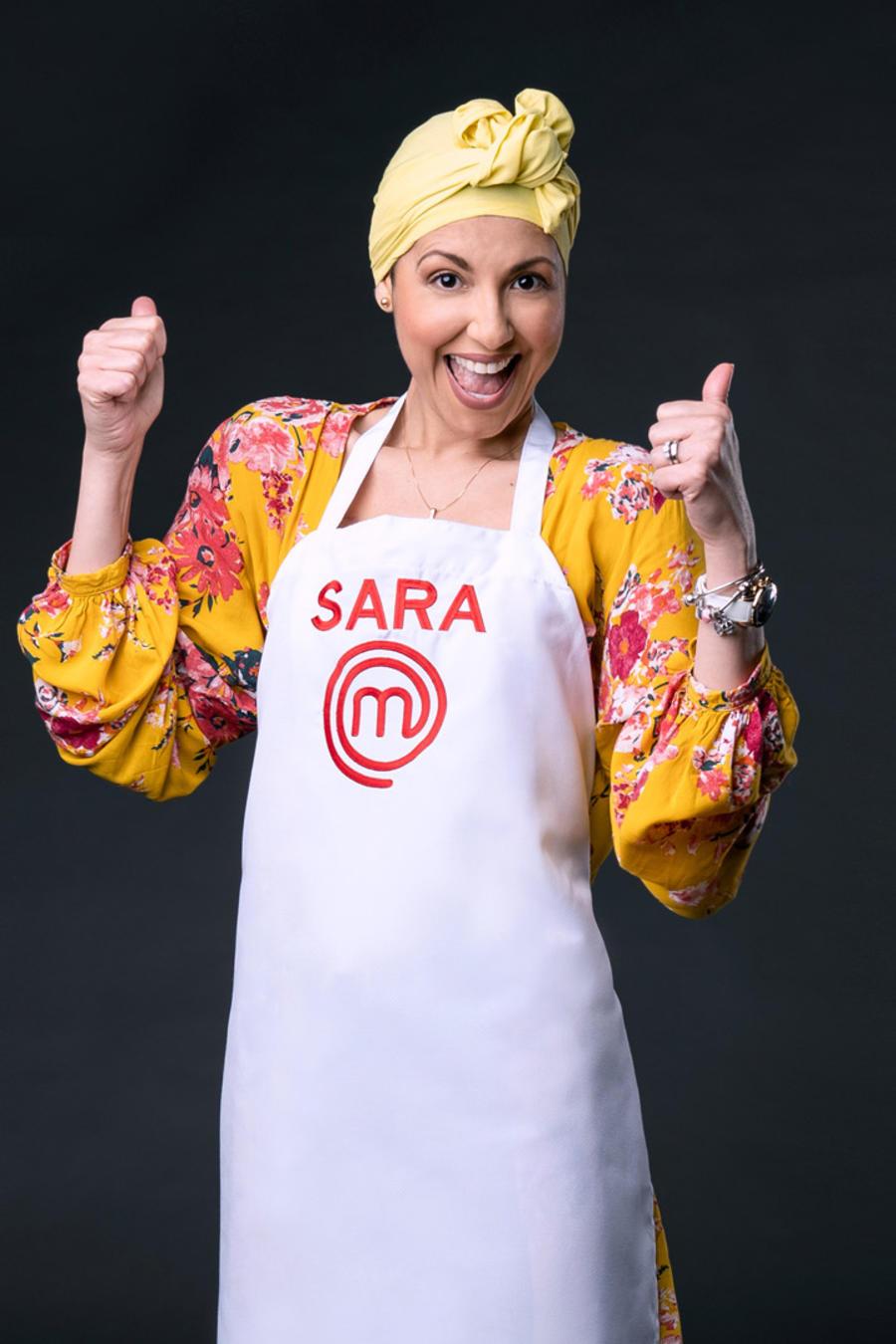 Sara Ordoñez novena eliminada de MasterChef Latino 2