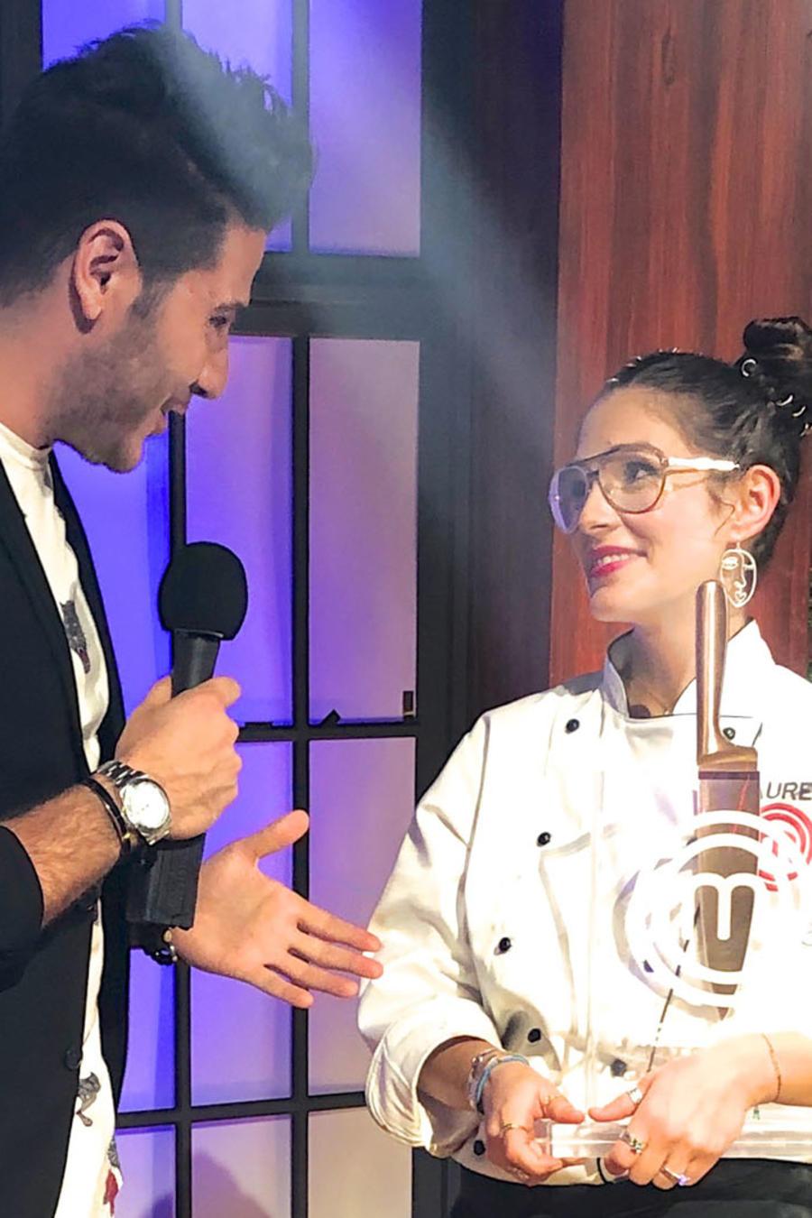 Chef James entrevista a Lauren Arboleda, ganadora de MasterChef Latino 2