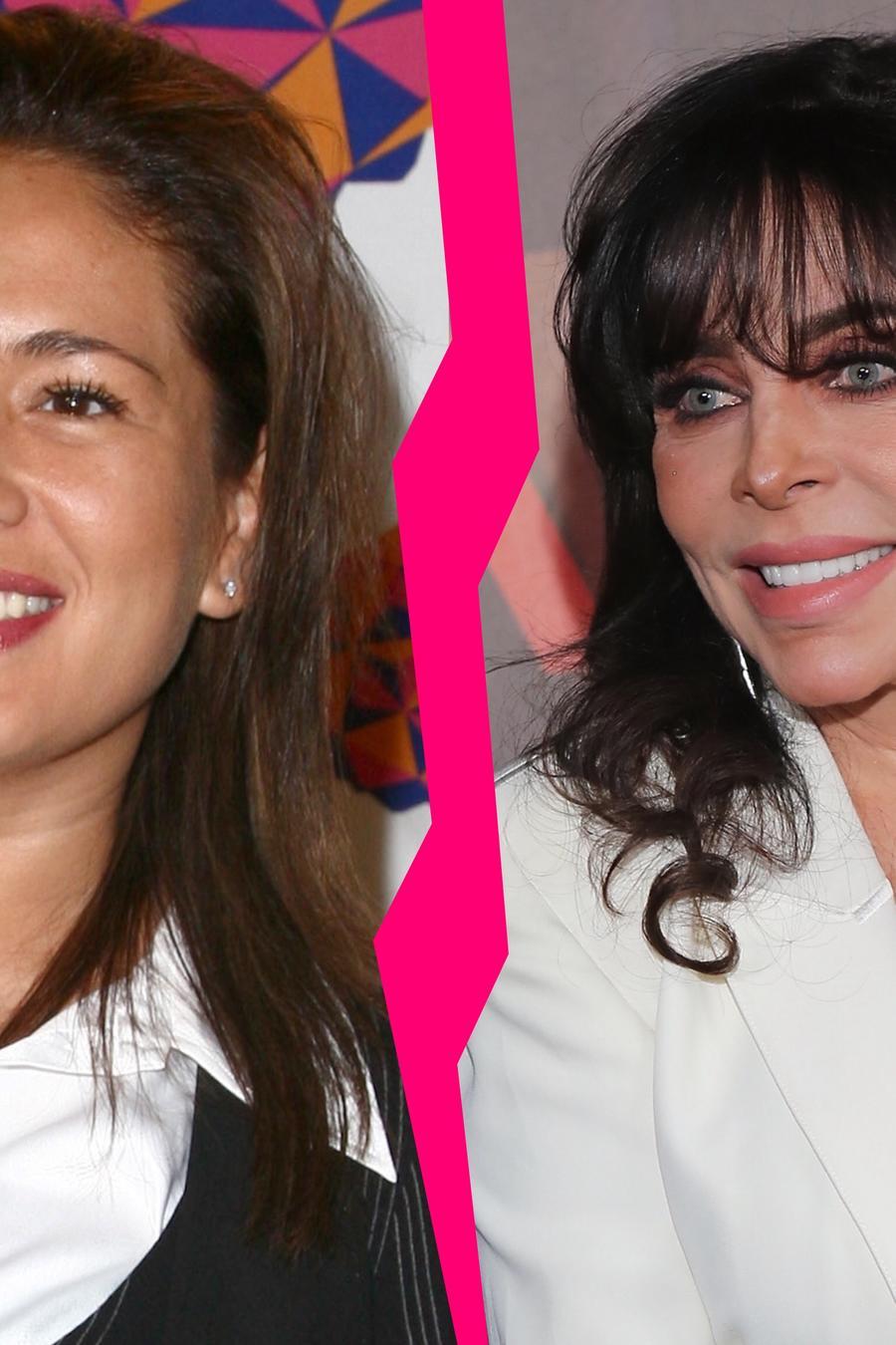 Yolanda Andrade y Verónica Castro rumores
