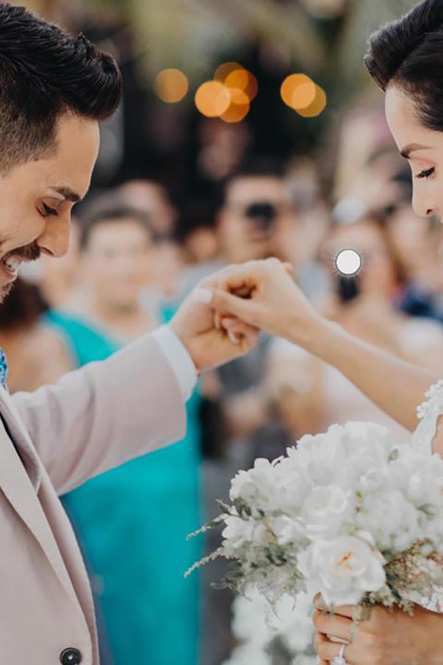 Carmen Villalobos Y Sebastián Caicedo boda