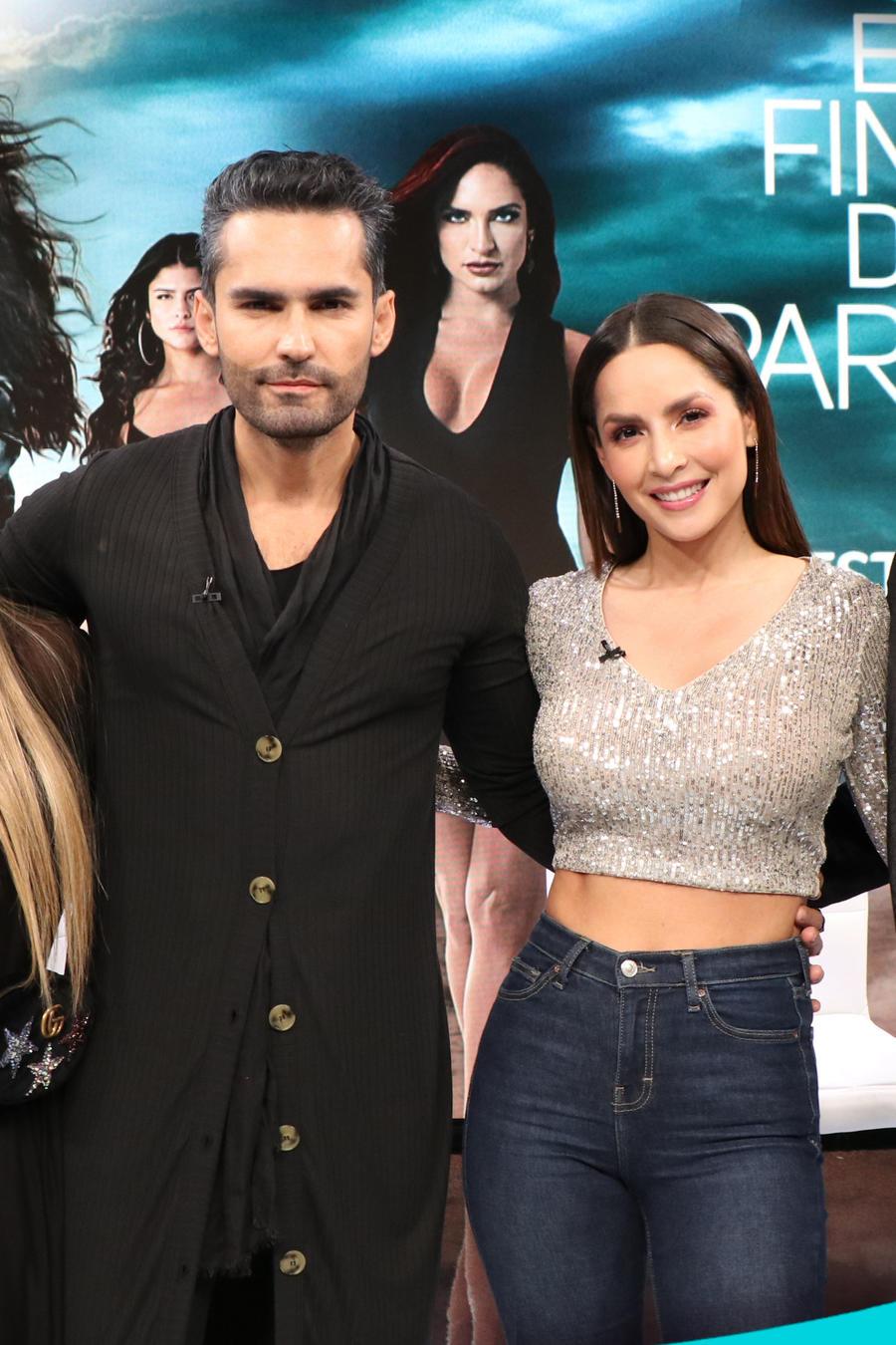 Catherine Siachoque, Gregorio Pernía, Carmen Villalobos y Fabián Ríos