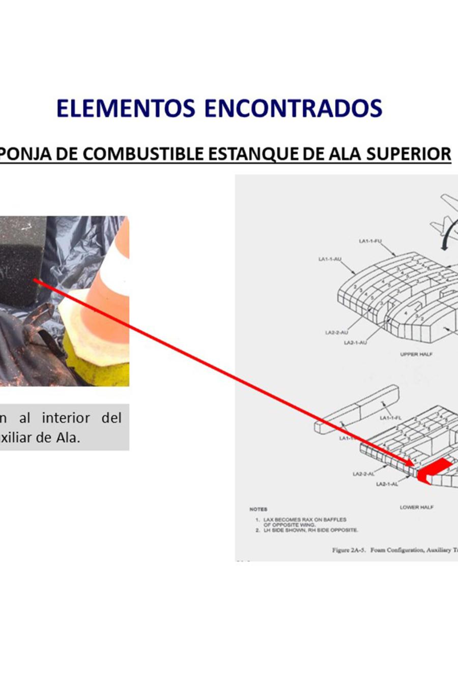 Hallan restos humanos y parte del fuselaje del avión chileno desaparecido