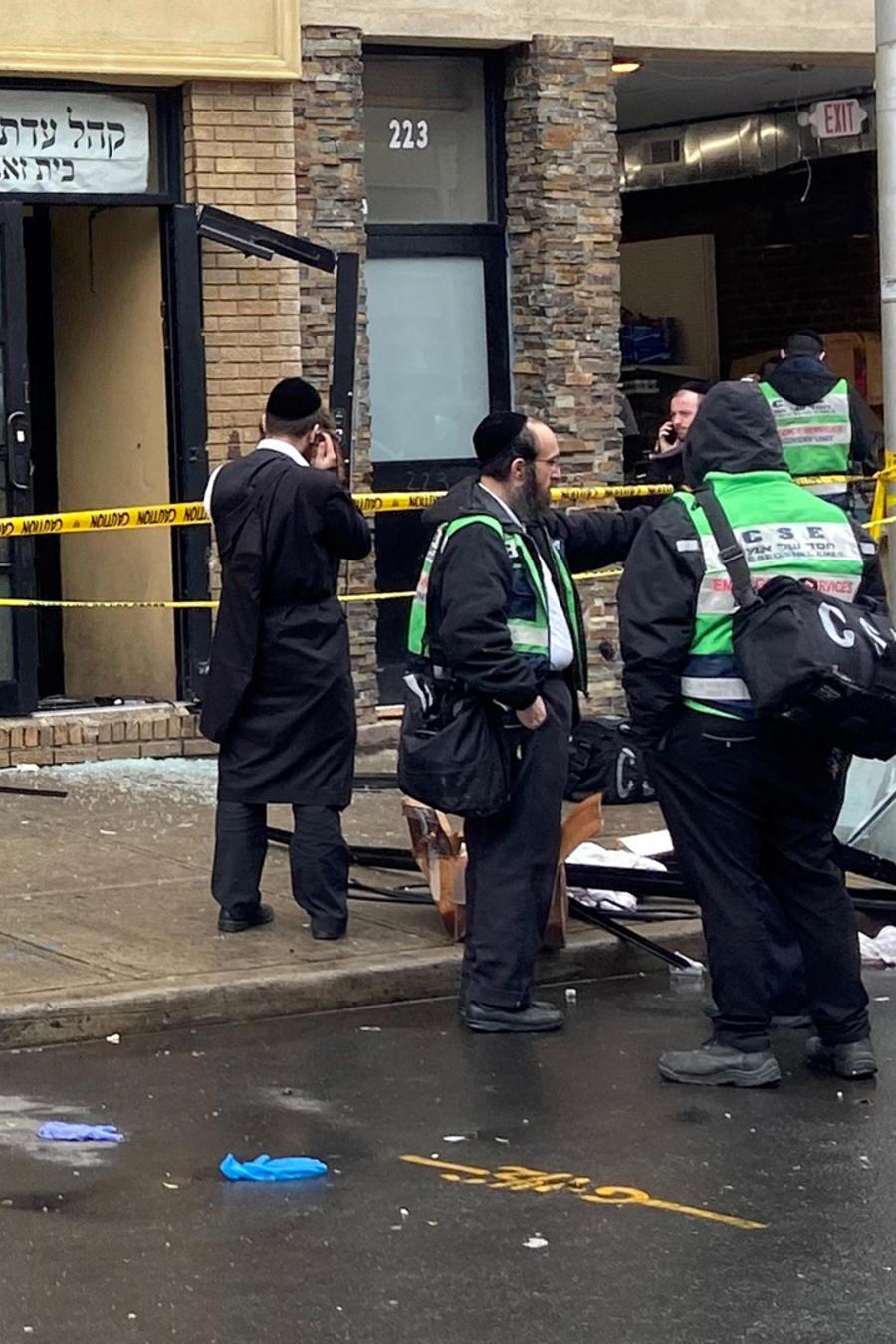 Tienda judía donde encontraron varios muertos tras brutal balacera.