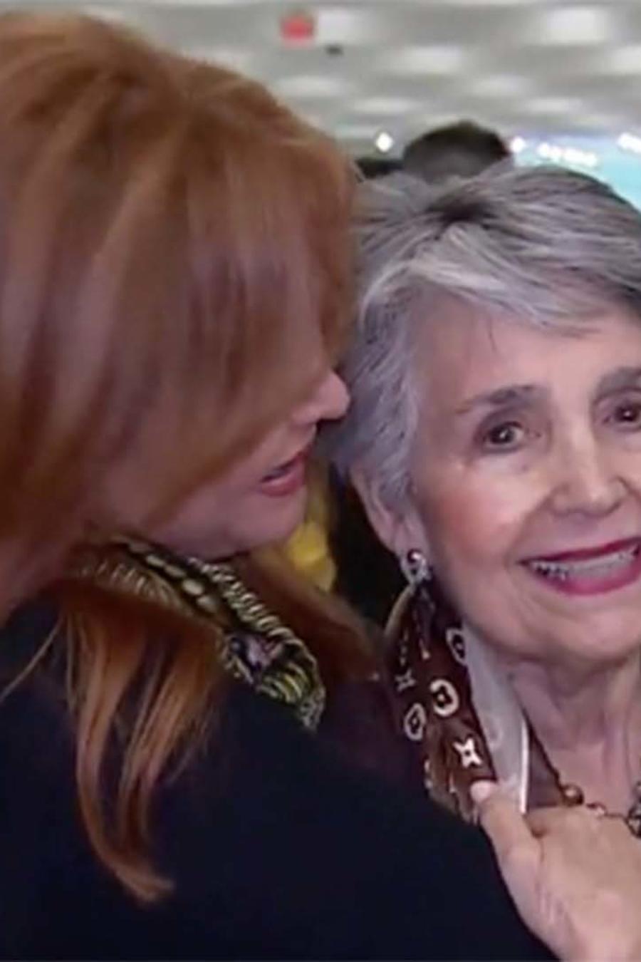María Celeste le cumple un sueño a su madre