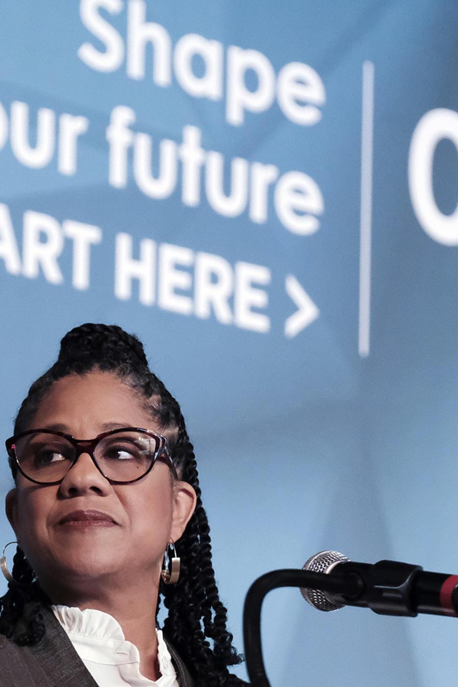 Kendall Johnson, directora ejecutiva del Censo 2020.