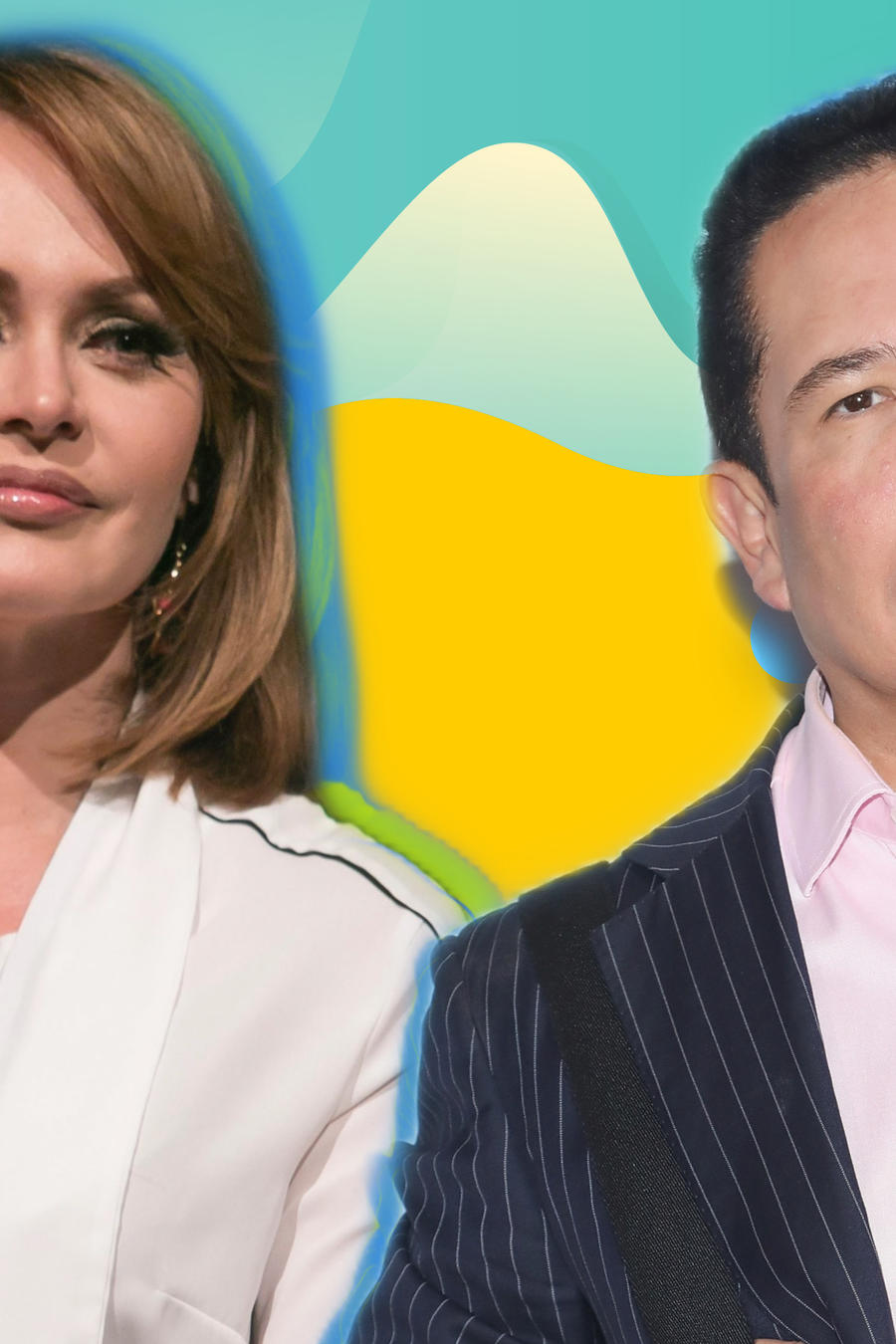Gaby Spanic y Gustavo Alfonso Infante
