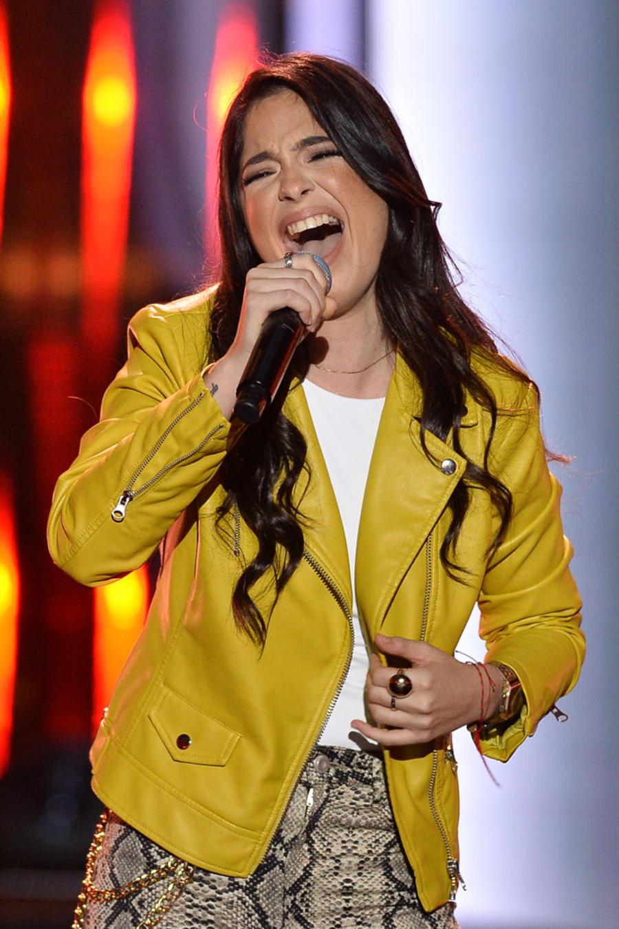 Diana Sofia Chiriboga en las audiciones a ciegas La Voz US 2
