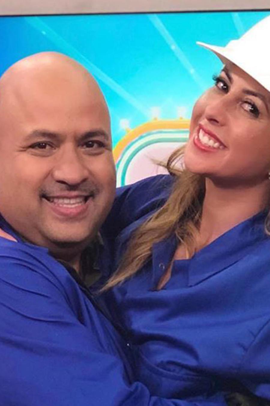 Gerardo López y Chiquibaby