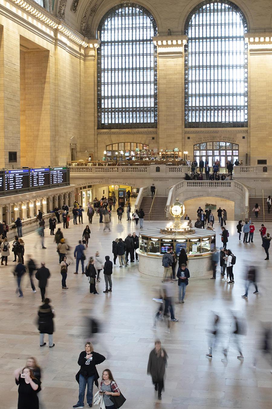 La Grand Central Terminal, en Nueva York.