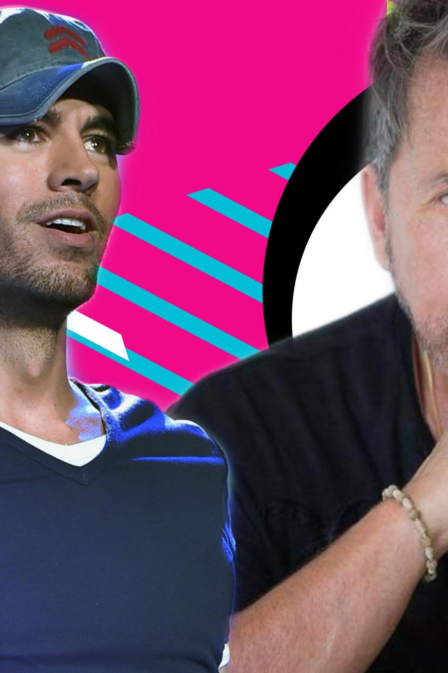 Enrique Iglesias y Ricardo Montaner