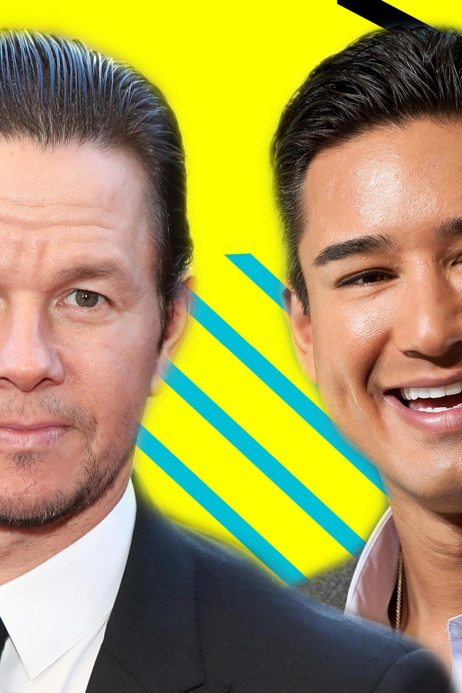 Mark Wahlberg y Mario Lopez